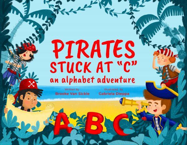 Pirates Stuck at C | Alphabet picture book | pirate adventure book