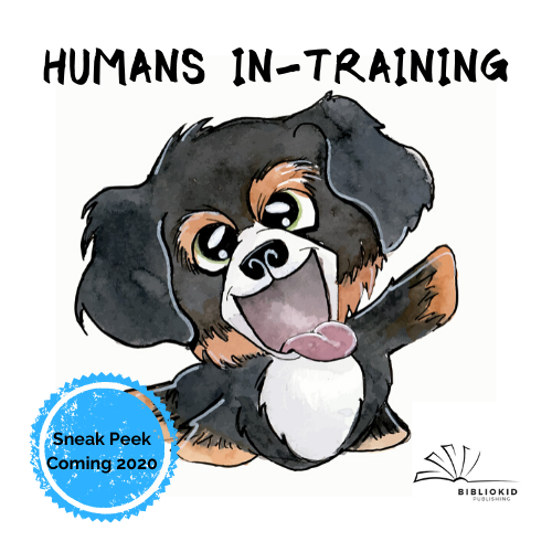 Humans In Training | Picture Book about Dogs