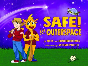 Safe in Outerspace an alien picture book