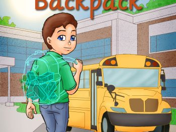 Ezra's Invisible backpack | Bibliokid publishing