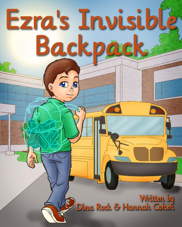 Ezra's Invisible backpack | Bibliokid publishing