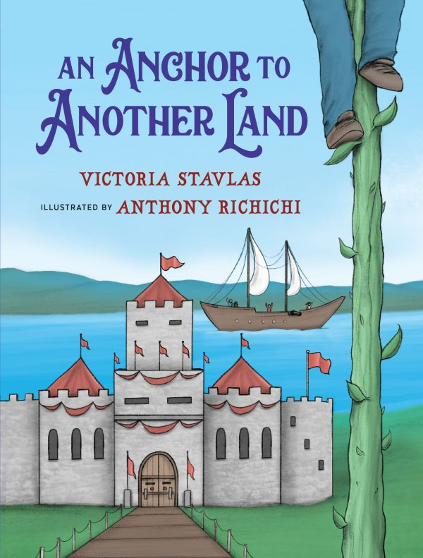 An Anchor to Another Land Children's Chapter Book Reluctant Readers