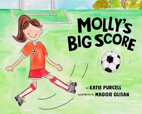 Molly's Big Score   Cerebral Palsy Picture Book