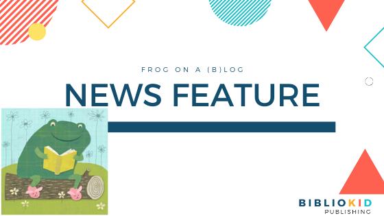 BiblioKid Publishing Frog on a (B)log news feature