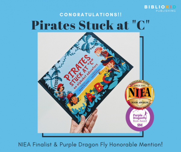 Pirates Stuck at C award winning picture book