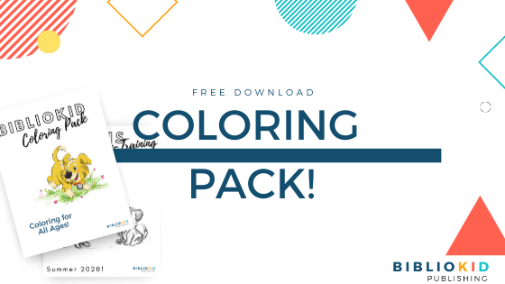 Free BiblioKid Publishing Coloring Pack