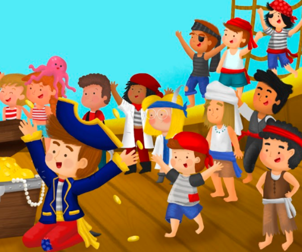 Pirates stuck at c Bibliokid publishing books