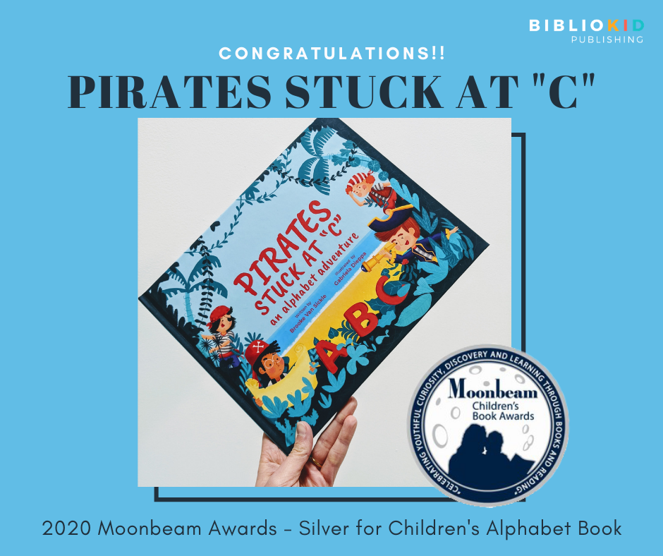 "Pirates Stuck at ""C"" award winning picture book"