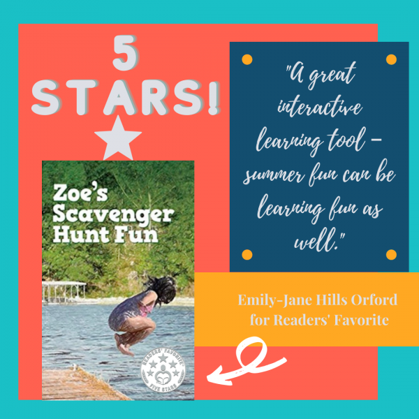 5-Star Review Readers Favorite | Zoe's Scavenger Hunt Fun