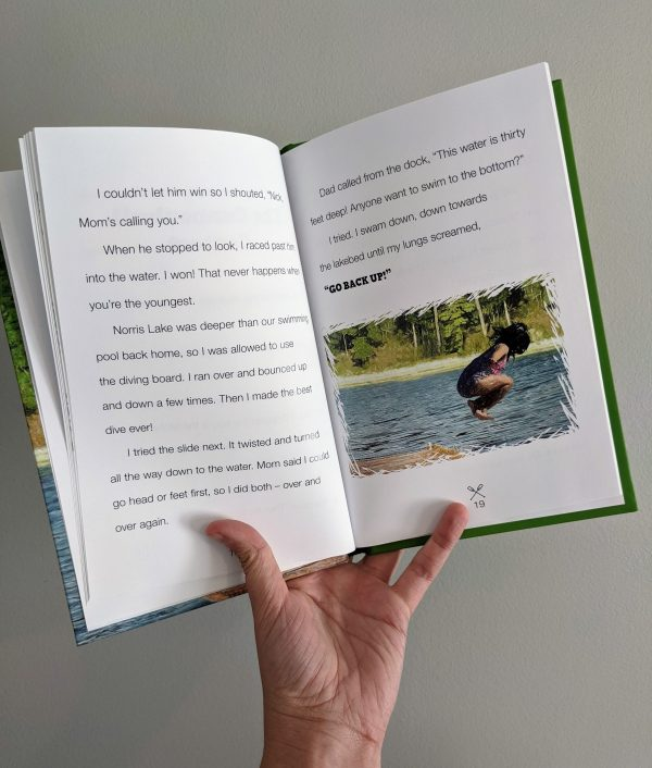 Zoe's Scavenger Hunt Fun | Lake Adventure Chapter Book