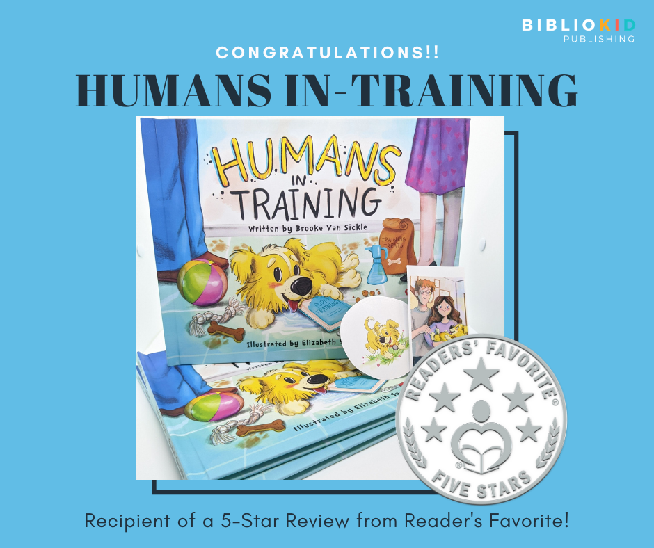 Reader's Favorite 5-star review recipient Humans In-Training
