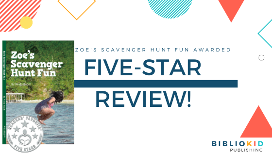5-Stars for Zoes Scavenger by Rinda Beach Hunt Fun