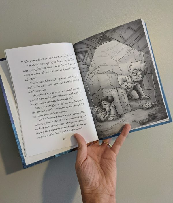 The Adventures of Logan and Lilly Candace Valek Interior